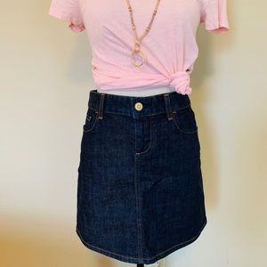 J. Crew Denim Mini Skirt, Size 27